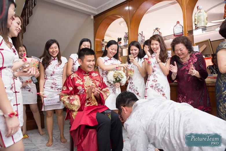 Chinese Wedding Tea Ceremony Pictureteam Kuala Lumpur Malaysia 006
