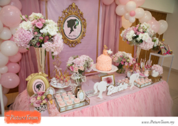 Barbie Doll Themed Birthday Party