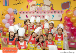 Themed Birthday Party at Young Chefs Academy