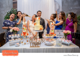 Wedding Reception Party at Union Roastery Citta Mall